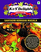 K&S Delights Sahyadri Konkani Masala Powder, 100 Gm [ Highly Concentrated Flavours Please use in Small Qty ]