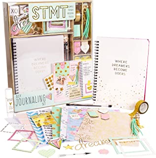 STMT DIY Journaling Set by Horizon Group USA, Personalize & Decorate Your Planner/Organizer/Diary with Stickers,Gems,Glitt...