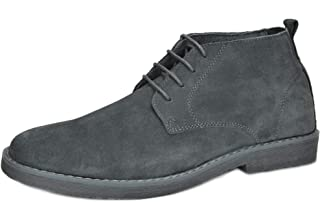 Men's Classic Original Suede Leather Desert Storm Chukka Boots