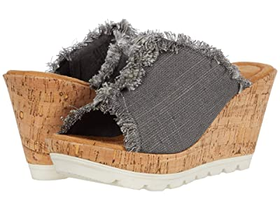 Minnetonka York (Grey Linen 2) Women