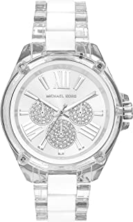 Michael Kors Women's Wren Stainless Steel Quartz Watch with Silicone Strap