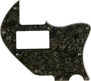 Golpeador de guitarra personalizado para Telecaster Merle Haggard F Hole Thinline PAF, Perla negra de 4 capas.
