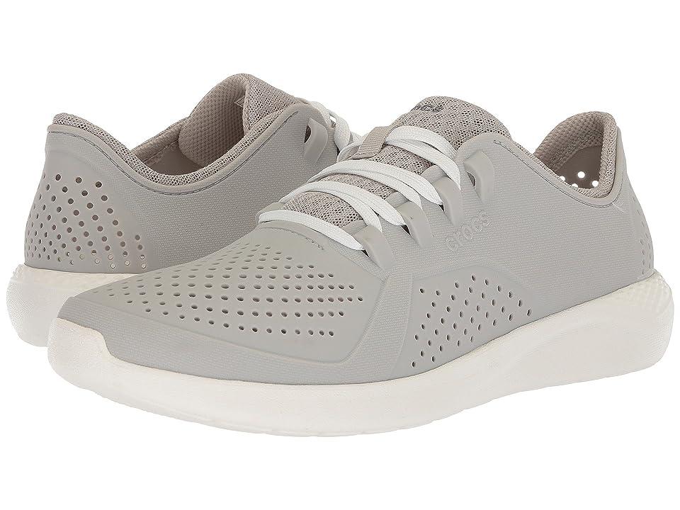 Crocs LiteRide Pacer (Pearl White/White) Men