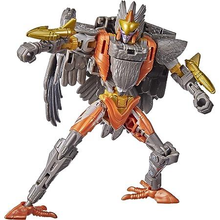 Transformers Toys Generations War for Cybertron: Kingdom Deluxe WFC-K14 Airazor Figura de acción – Niños a Partir de 8 años, 5.5 Pulgadas
