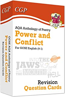 New 9-1 GCSE English: AQA Power & Conflict Poetry Anthology - Revision Question Cards