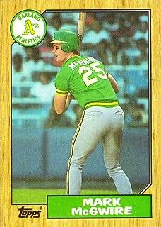 1987 mark mcgwire baseball card