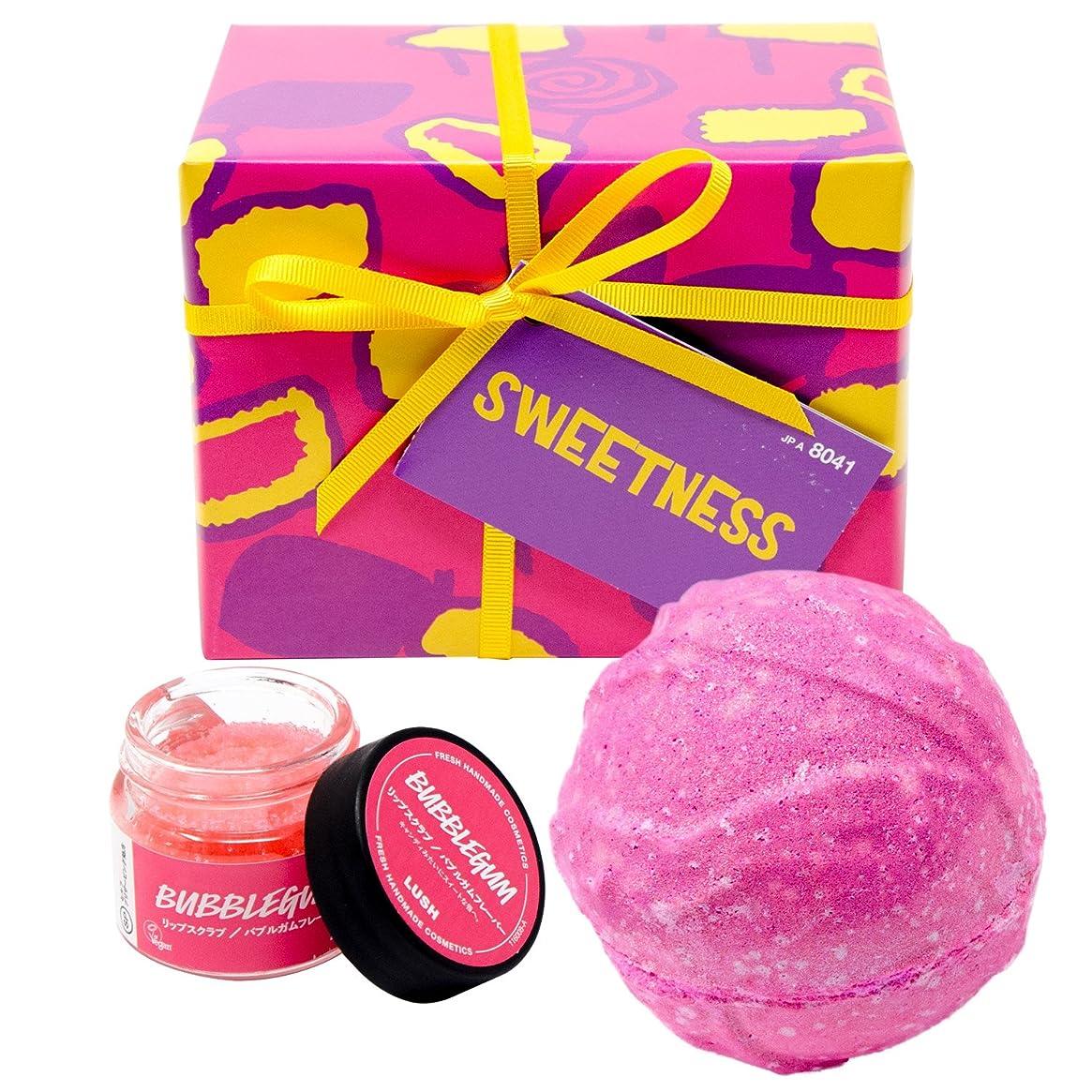 教会月曜ディスカウント(ラッシュ) LUSH Sweetness スウィートネス ギフトセット ショップバッグ付き