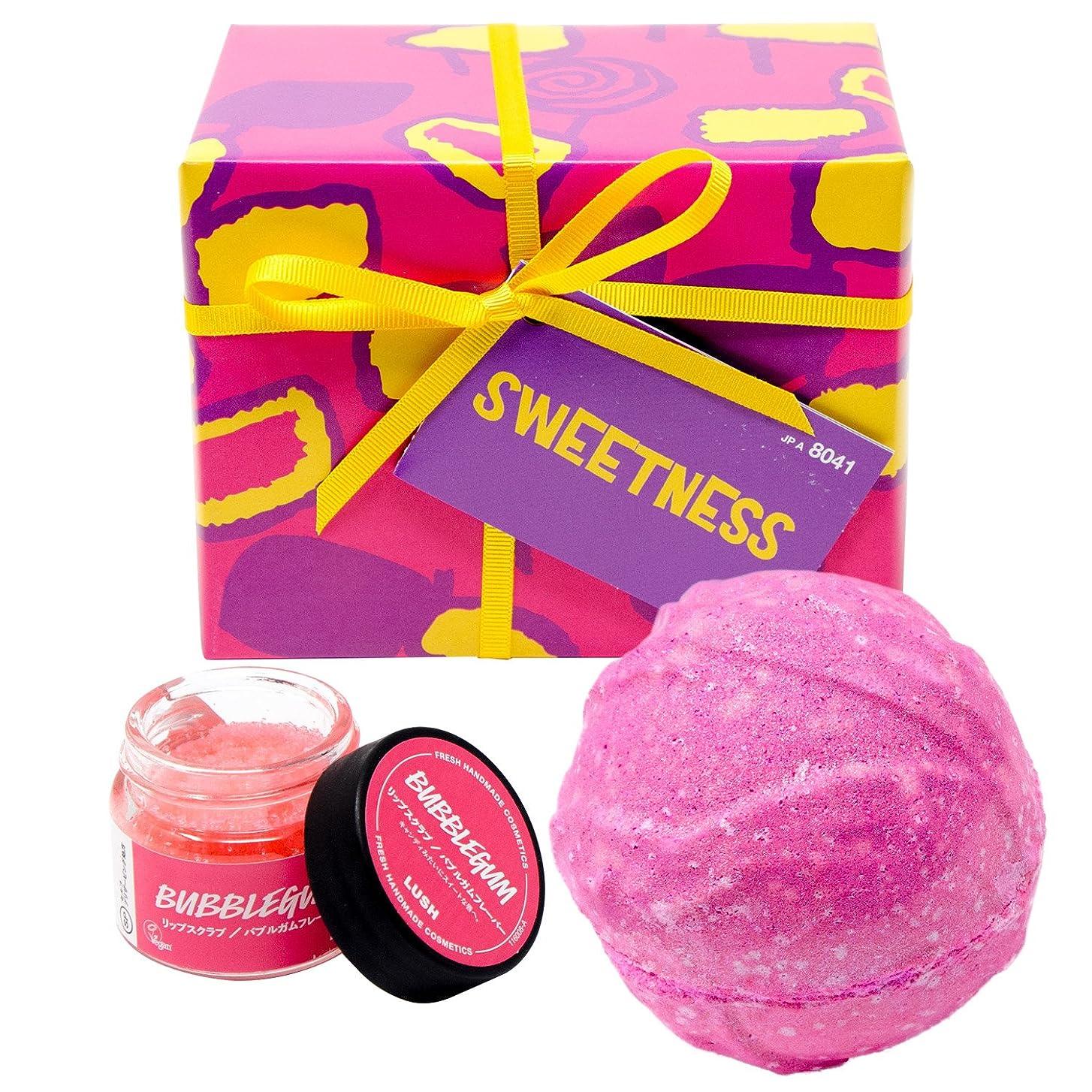 赤道取り扱い夜明け(ラッシュ) LUSH Sweetness スウィートネス ギフトセット ショップバッグ付き