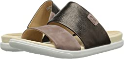 Licorice/Deep Taupe Cow Leather/Nubuck