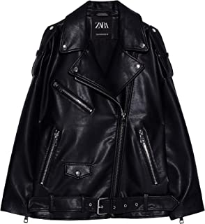 Best zara oversized leather jacket Reviews