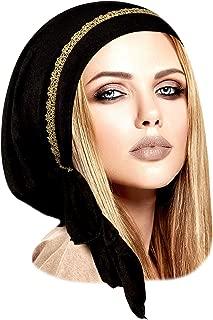 gold headwear