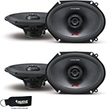 Alpine R-S68 Bundle - Two pairs of R-S68 6x8/5x7 Inch Coaxial 2-Way Speakers
