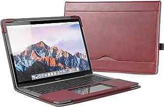 TYTX MacBook Pro Funda de cuero 13 pulgadas 2016-2019 (A1989 A1706 A1708 A2159) Funda protectora para portátil con funda protectora para computadora portátil (MacBook pro 13