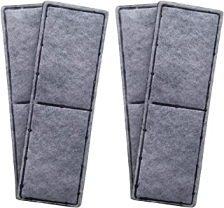 Finest-Filters 4 x Compatible Carbon Foam Filter Pads to fit Fluval U3 Range of Internal Filters