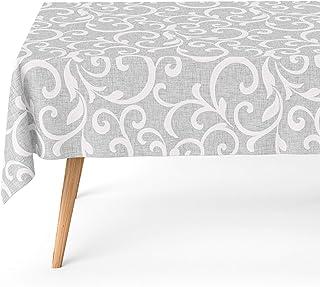 comprar comparacion Basic Home Mantel Antimanchas Pegaso Gris 140x180 cm