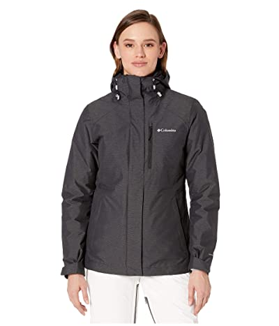 Columbia Whirlibird IV Interchange Jacket (Black Cross-Dye/Black) Women