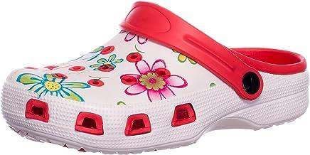 BRANDSSELLER Zuecos de Mujer   Zapato de jardín   Zapatillas   Zapatos de baño   Zapatillas Sandalias   Patrón Floral