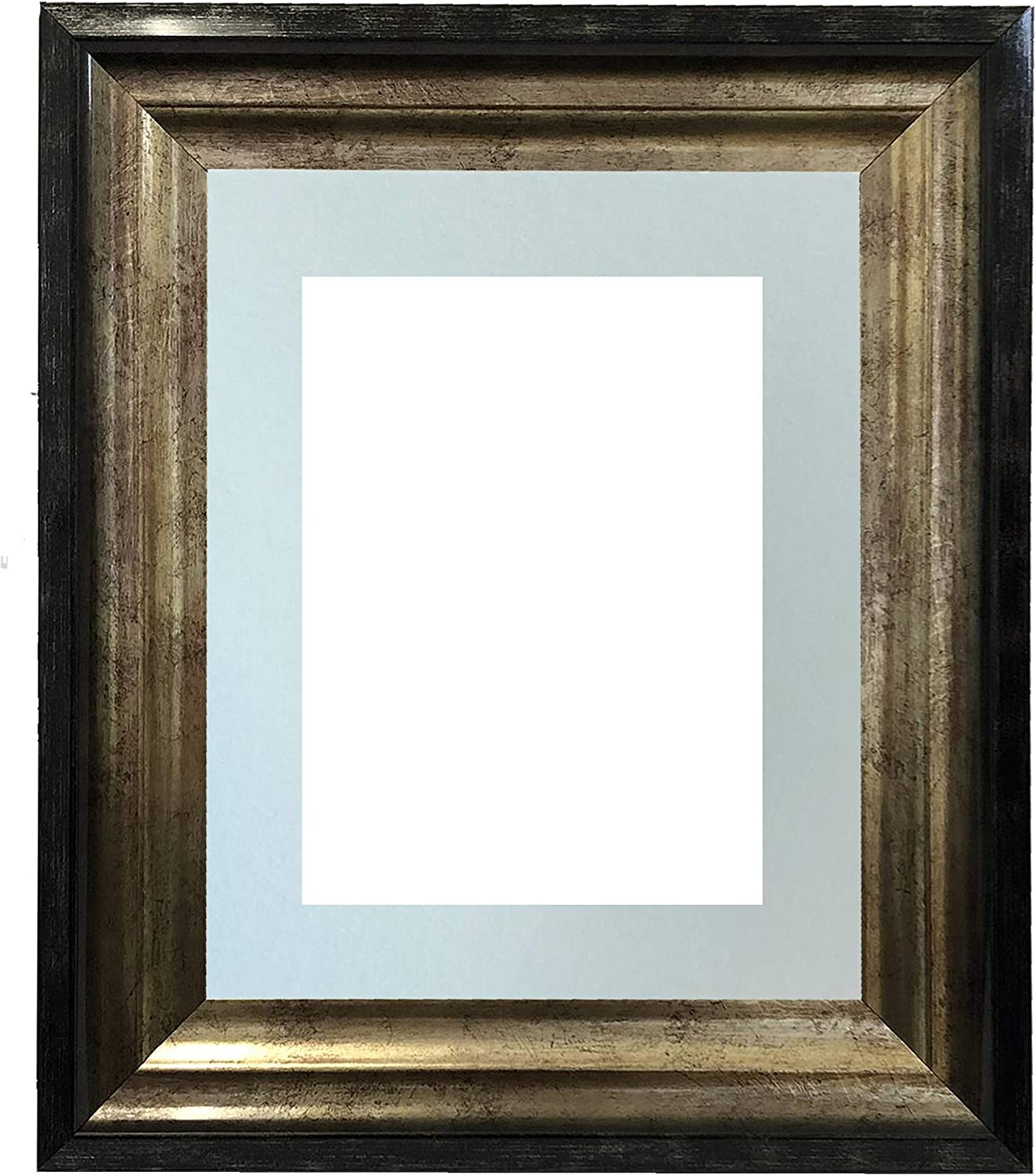 FRAMES BY POST Firenza Max 52% OFF Antique Picture Black Max 80% OFF Distressed and Gold
