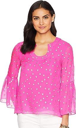 Pinata Pink Starry Clip Chiffon