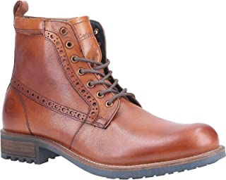 Cotswold Mens Dauntsey Lace Up Leather Boot