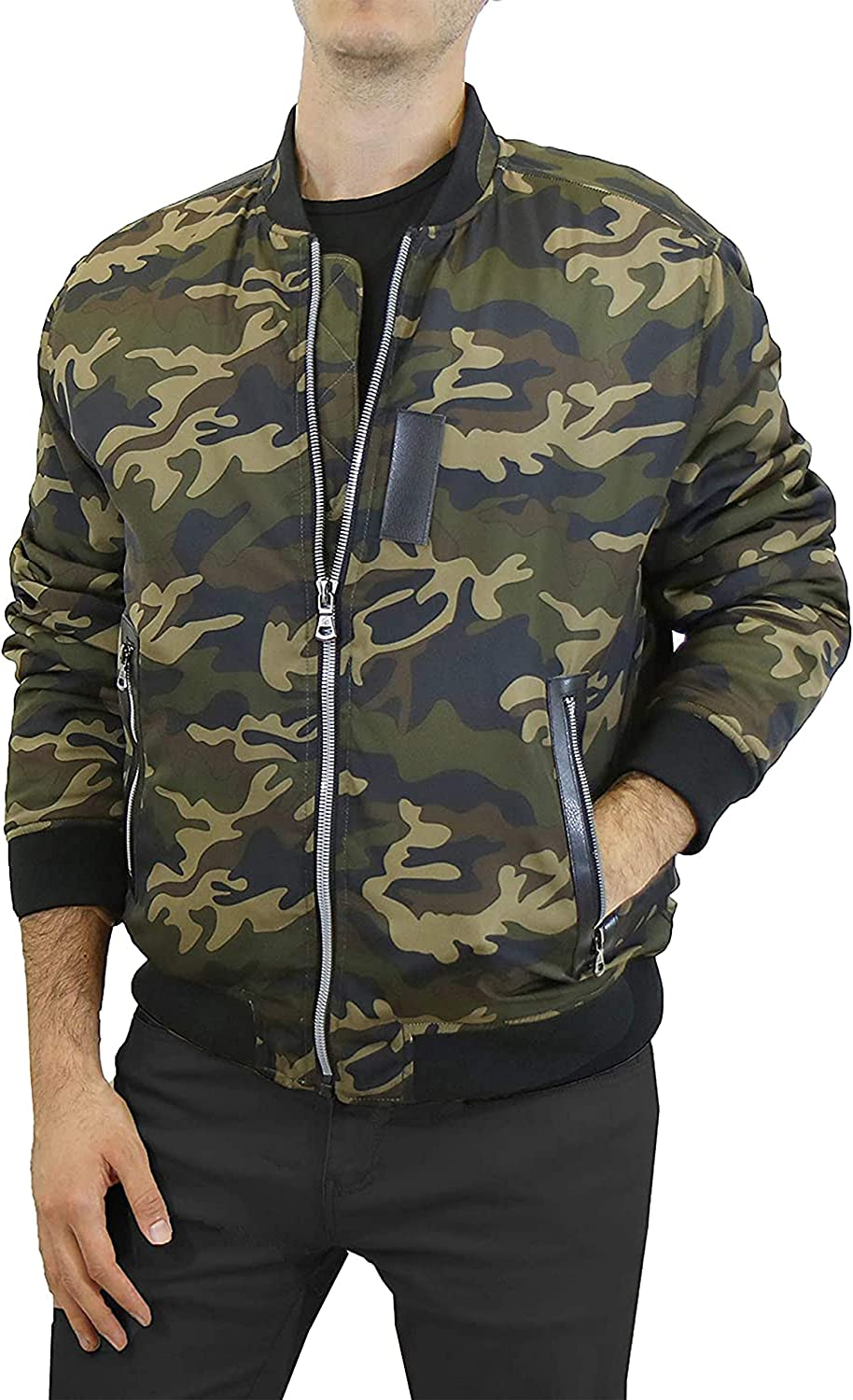 Mens Midweight Aviator Flight latest Jackets Selling and selling Bomber