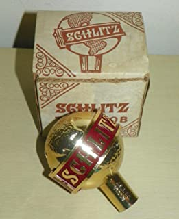 Schlitz Globe Mini Style Draft Beer Tap Handle with original box
