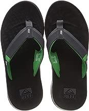 REEF Men's Sandals Fanning Low   Bottle Opener Flip Flops for Men