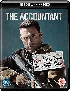 The Accountant 4k UHD + Blu-Ray (BLURAY)