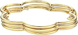 Scrunched Scallops Stackable Bangle Set