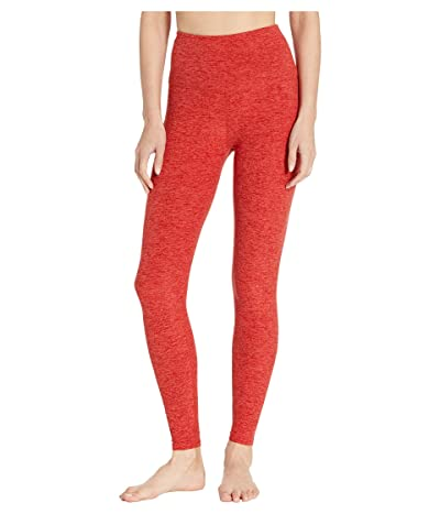 Beyond Yoga Spacedye High-Waist Midi Leggings (Scarlet Sun/Sienna) Women