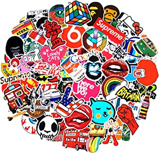 200Pack SuprCool Stickers Set Random Sticker Decals for Water Bottle Laptop Cellphone Skateboard Bicycle Motorcycle Car Bumper Luggage Travel Case. Etc (200pcs)