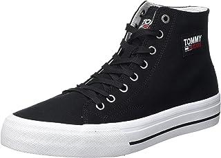 Tommy Jeans Herren Mid Cut Long Lace Up Vulc Sneaker