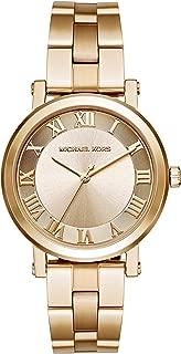 Michael Kors Women's Norie Goldtone Three Hand Watch