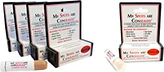 My Spots Are Concealed MEDIUM 4 Pack - FREE Porcelain Concealer/Blend for a perfect match/Best concealer for face, body and back acne