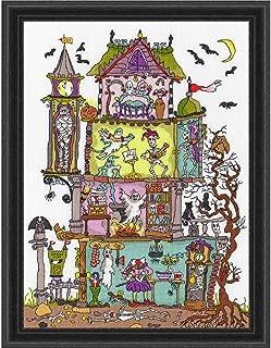 haunted house cross stitch