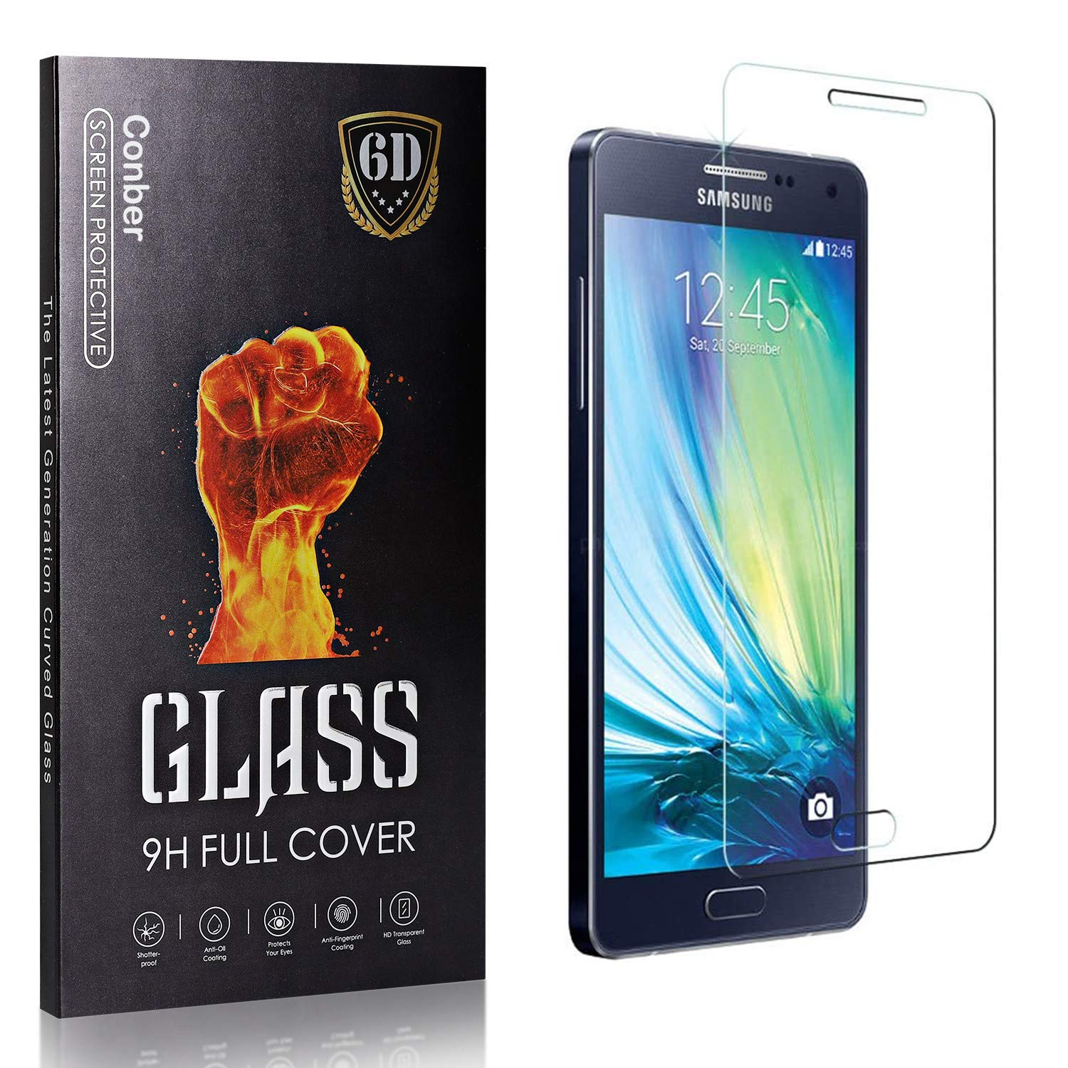 Conber 4 Pack Las Vegas Mall Screen Protector for Raleigh Mall Galaxy Tem 2015 Samsung A7