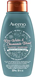 Aveeno Scalp Soothing Rose Water & Chamomile Blend Shampoo, 358ml