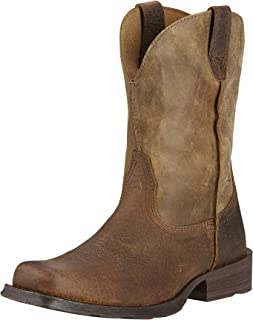 ARIAT Men's Rambler Western Boot Earth Size 7.5 Ee/Wide Us