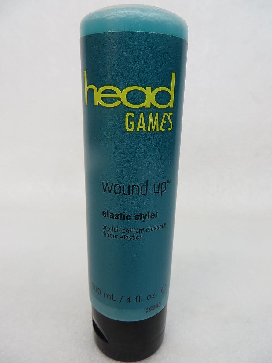 不調和何でも学部HeadGames ヘッドゲームは弾性スタイラー4オンスを巻き上げます 4オンス
