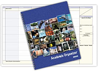 "Student Academic Organizer 8 1/2 x 11"" Weekly View (AOTAP-Undated)"