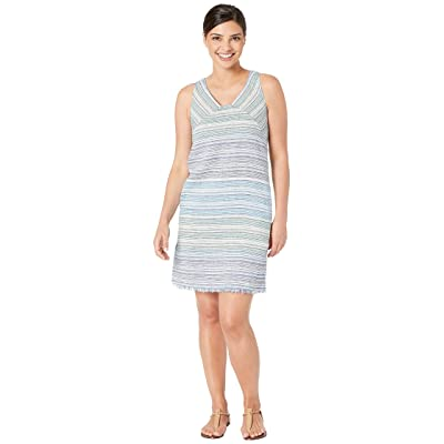 Tommy Bahama Micronesia Stripe Shift Dress (Monaco Blue) Women