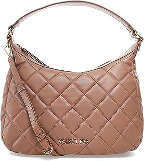 Valentino Bags Damen Ocarina Stepptasche Hobo Bag Beige