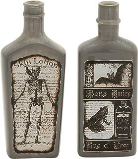 Plutus Brands 2 Assorted Arty Ceramic Bottle