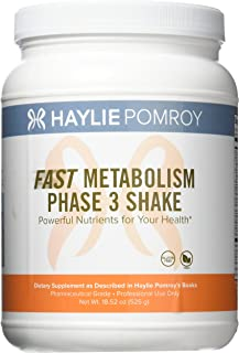 Haylie Pomroy's Fast Metabolism Diet Shake Phase 3: Unleash the Burn