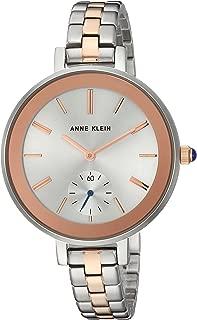 Anne Klein - Reloj de pulsera bicolor para mujer