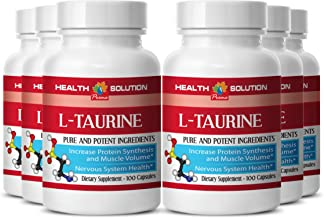 Taurine and l-carnitine - L-Taurine 500MG - Support Weight Loss (6 Bottles)