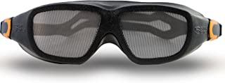 Safe Eyes Stainless Steel Fine-Mesh No-Fog Dust Goggles