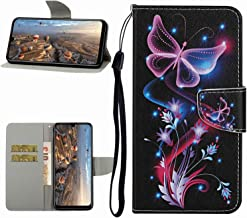 Miagon Full Body Wallet Case for Samsung Galaxy S10 Pu Leather Protective Flip Cover with Wrist Strap ID Card Holder Magnetic Closure Purple Butterfly Estimated Price : £ 5,29