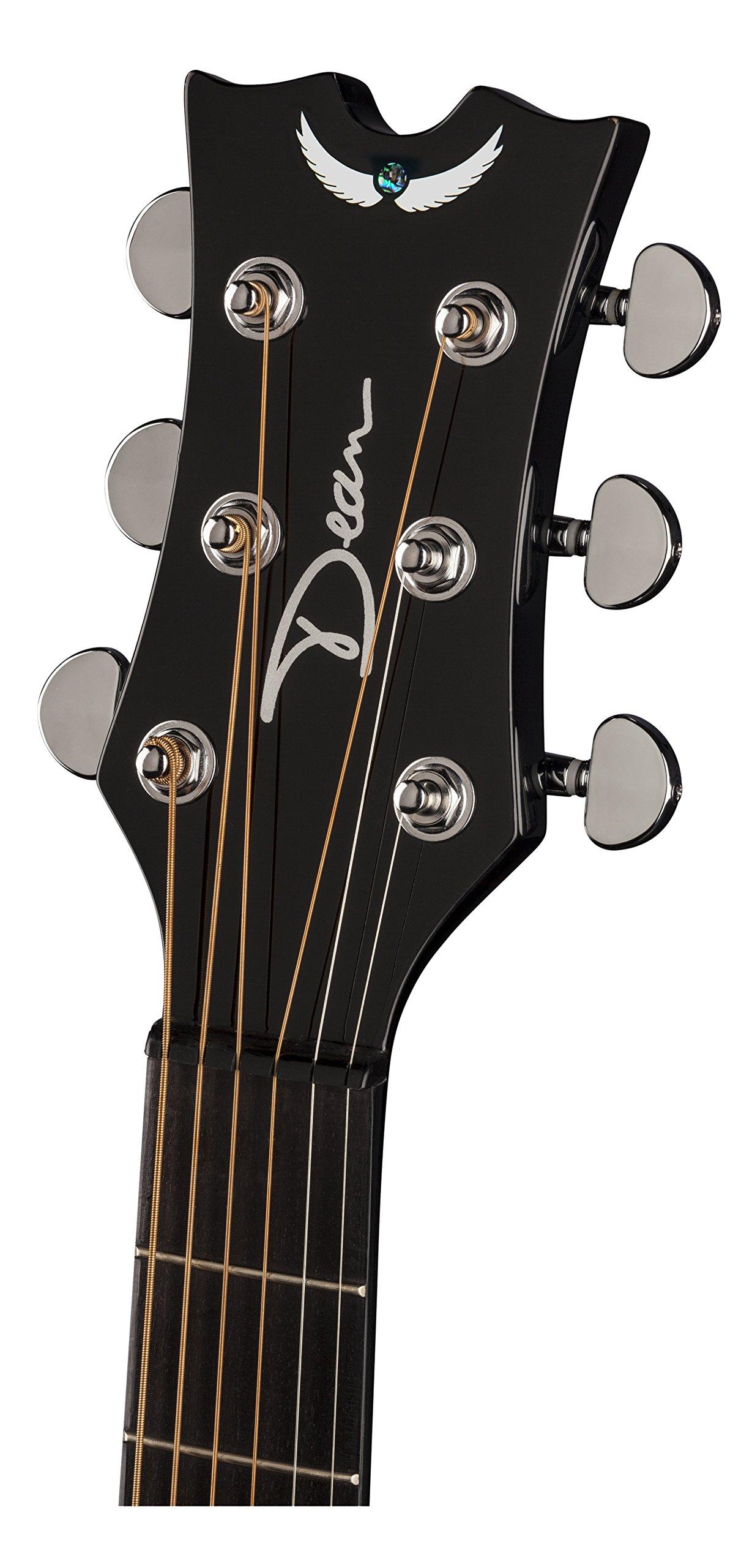 Dean Guitars EQUA TBZ guitarra acústica recortada Ultra Exotica ...