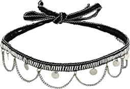 Chan Luu Hanging Coins and Chains Choker Necklace